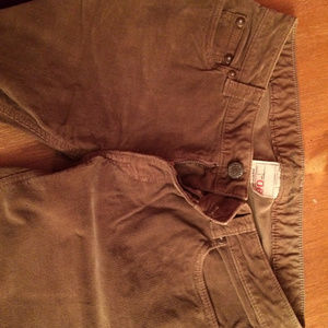 Banana Republic Tan Corduroys  Size 6